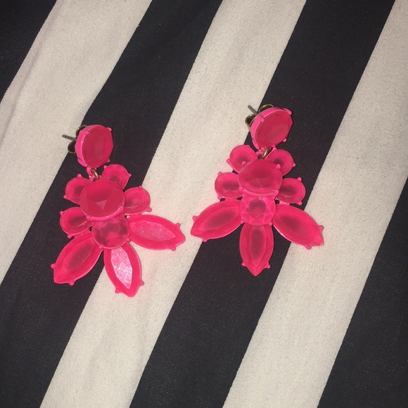 J. Crew Jewelry - Jcrew pink earrings